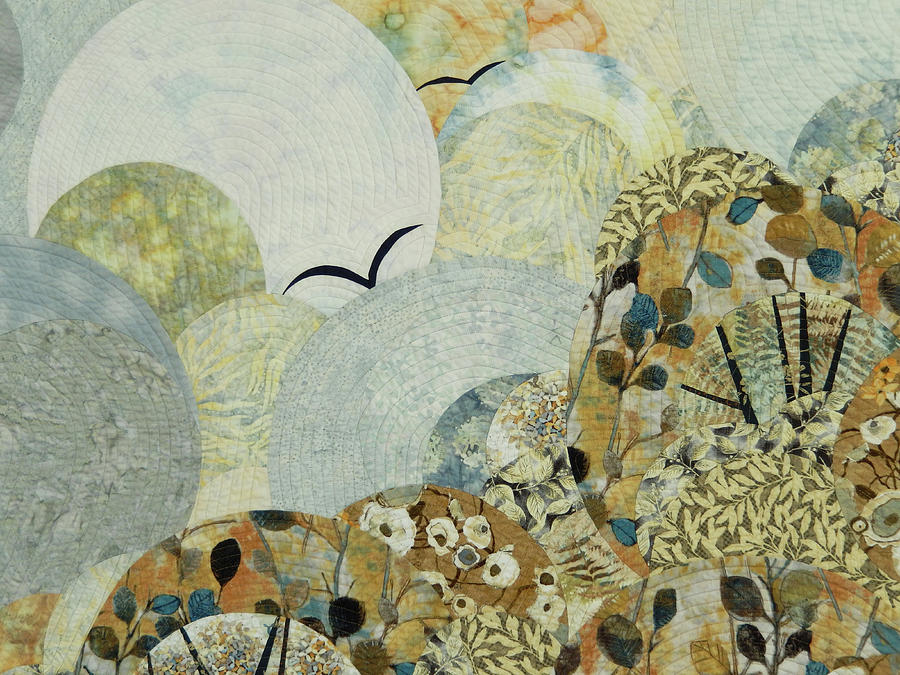 Landscape Tapestry - Textile - The Joy Of Soaring by Linda Beach