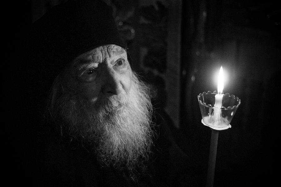 Monk Photograph - The Joy of the Resurrection by John Thomas