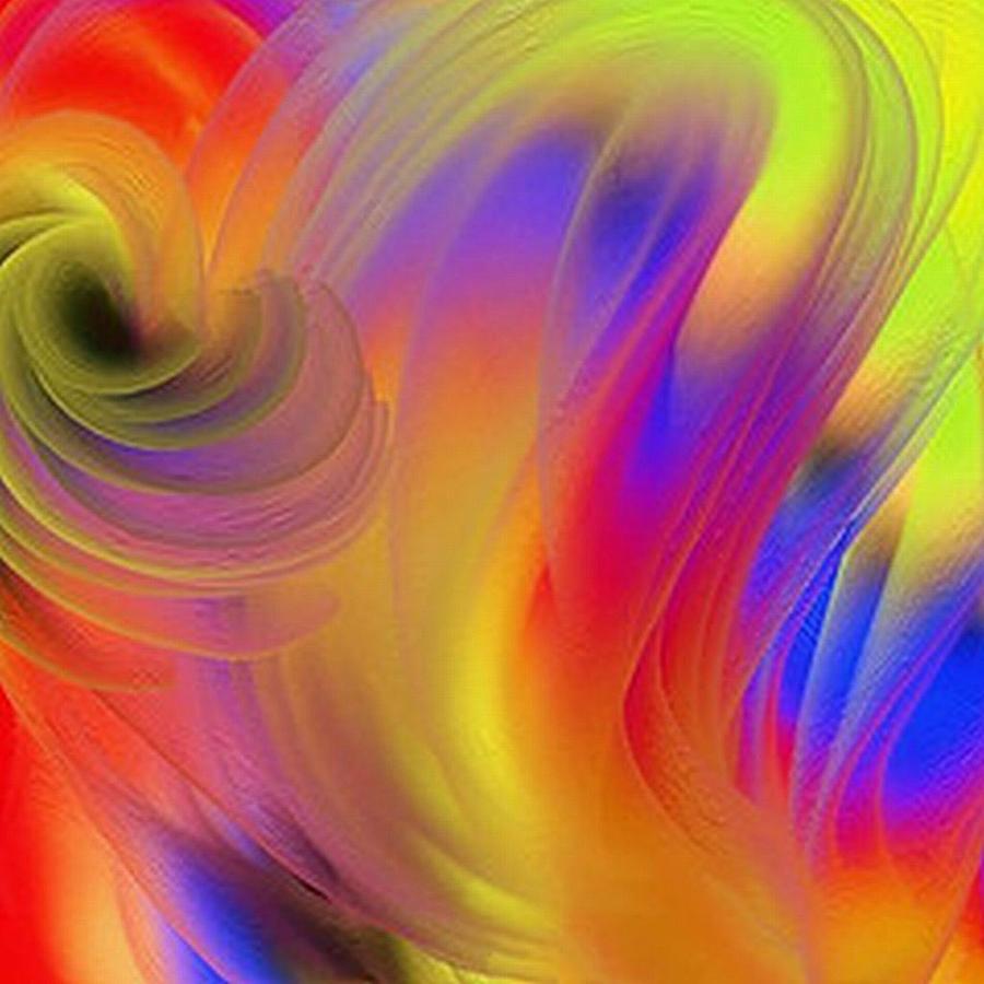 Joy Painting - The Joyous Mind by Janpen Sherwood