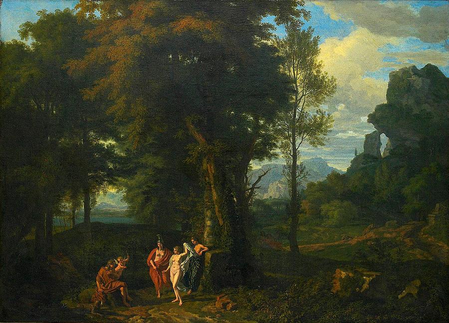The Judgement Of Paris, Henryk Siemiradzki, oil on canvas