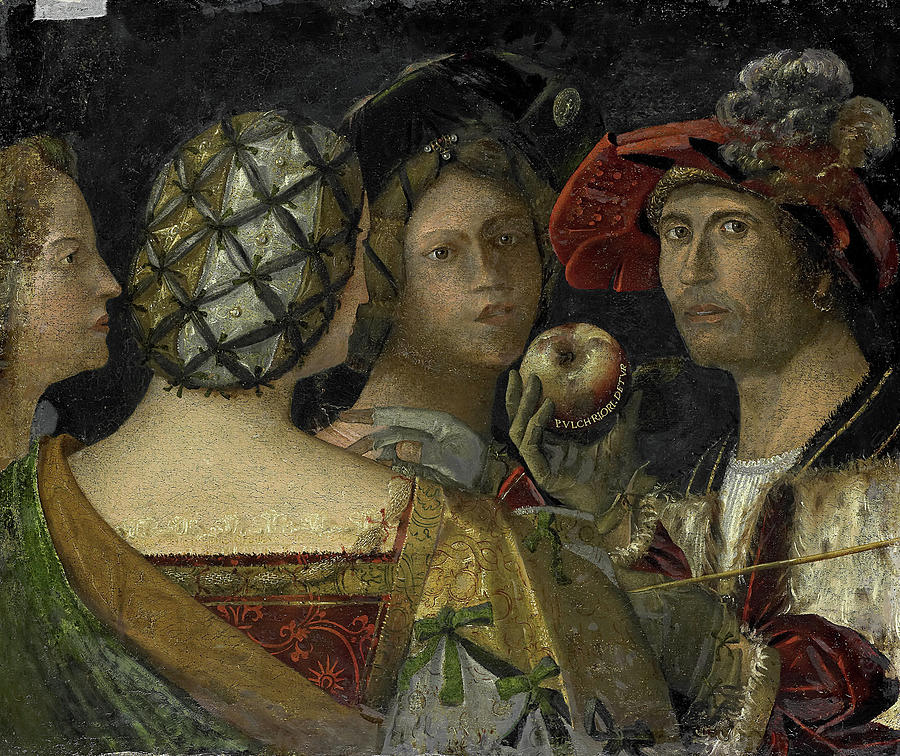 Giovanni Sons, The Judgment Of Paris, Flemish Painting by