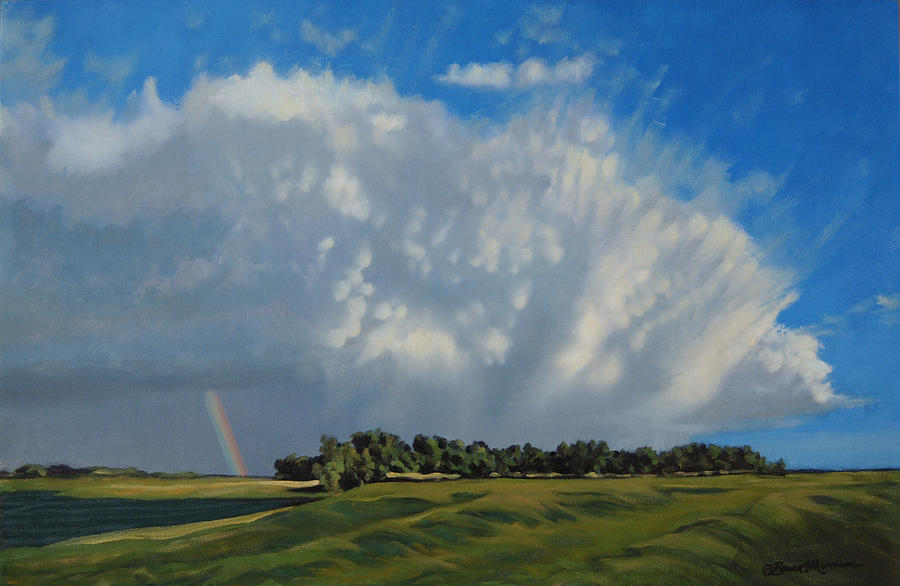 Landscape Painting - The June Rains Have Passed by Bruce Morrison