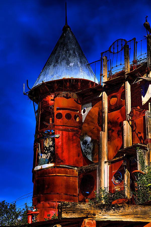 Castle Photograph - The Junk Castle by David Patterson