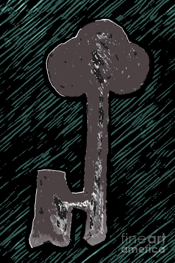 The Key - Green by Curtis Sikes