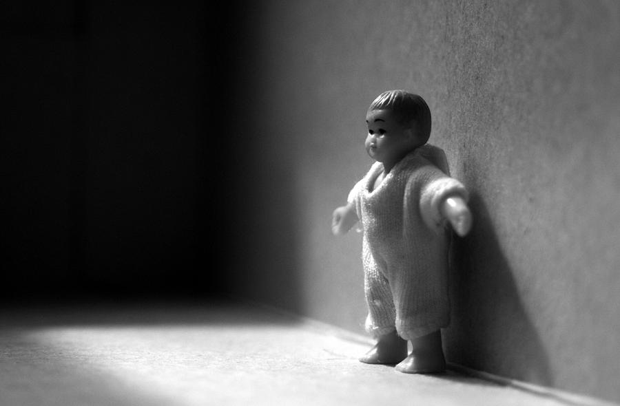 Black And White Photograph - The Kid by Dan Holm