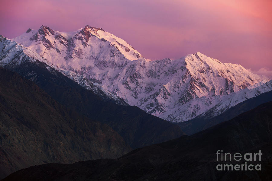 Landscape Photograph - The Killer Mountain by Awais Yaqub