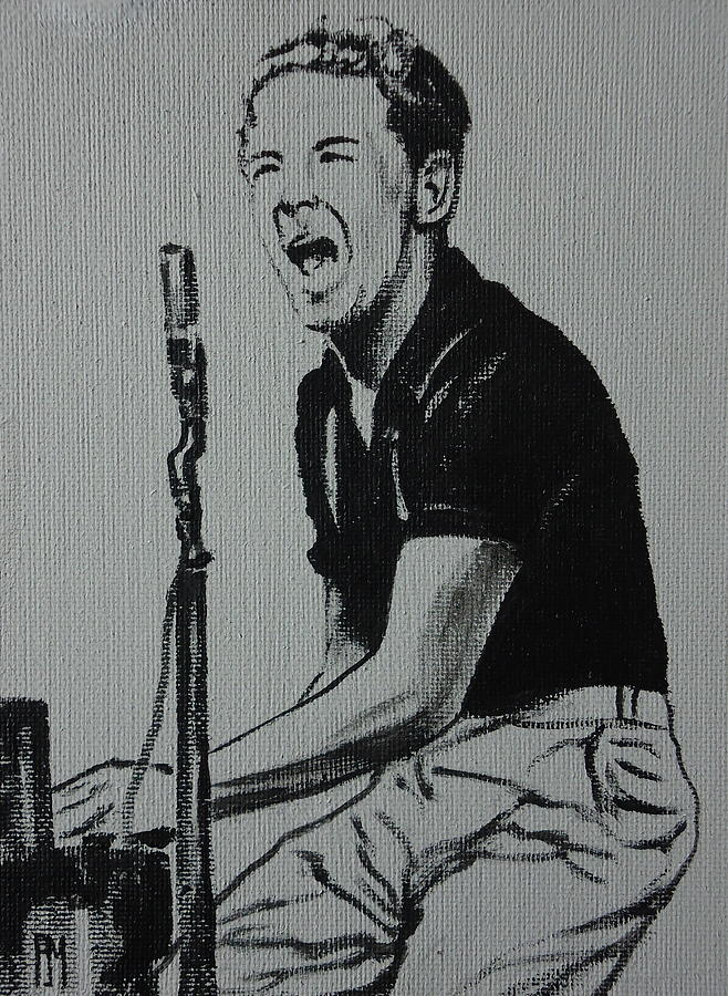 Jerry Lee Lewis Painting - The Killer by Pete Maier