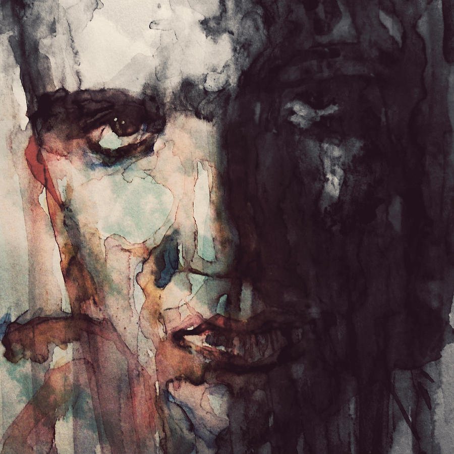 Elvis Painting - The King by Paul Lovering