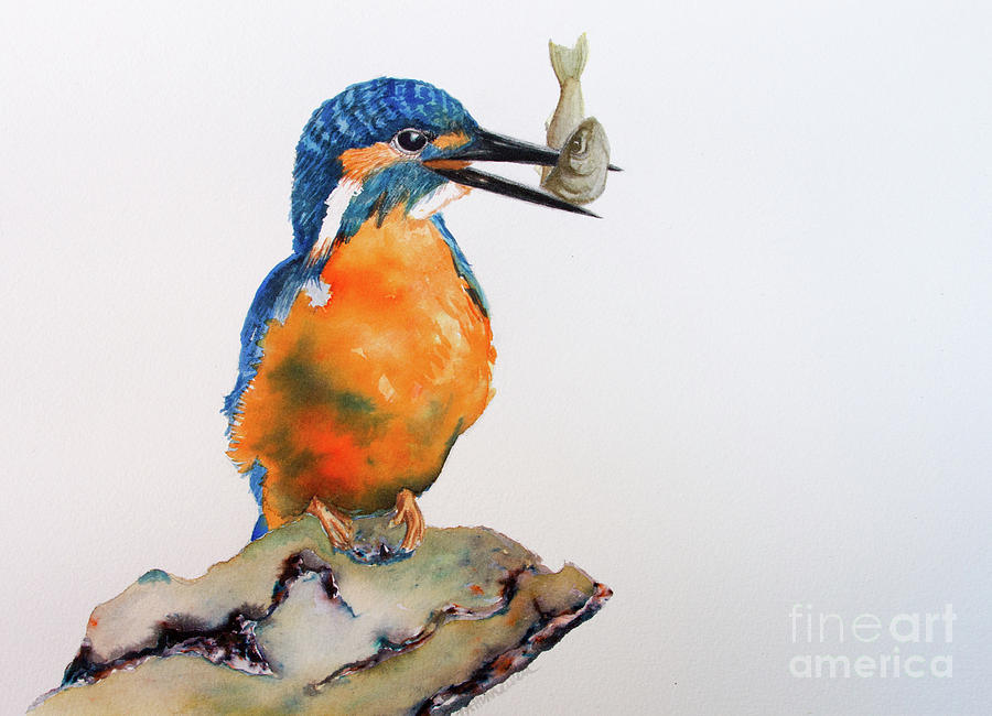 The Kingfisher Painting