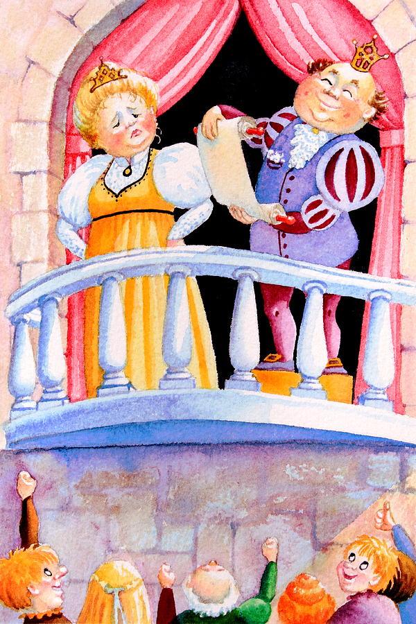 The Kings Decree Painting