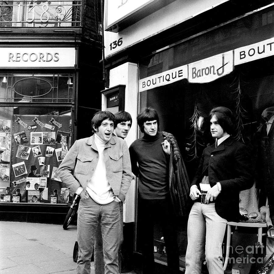Kinks Photograph - The Kinks 1966 Dedicated Follower Of Fashion by Chris Walter