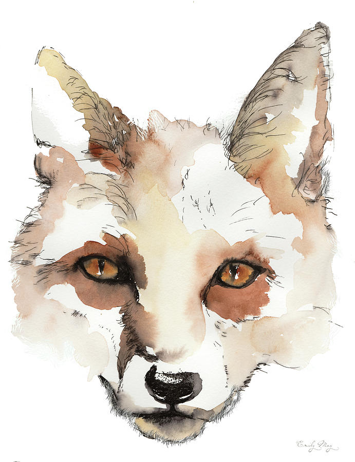 The Knowing. Fox. by Emily May Studio Arts