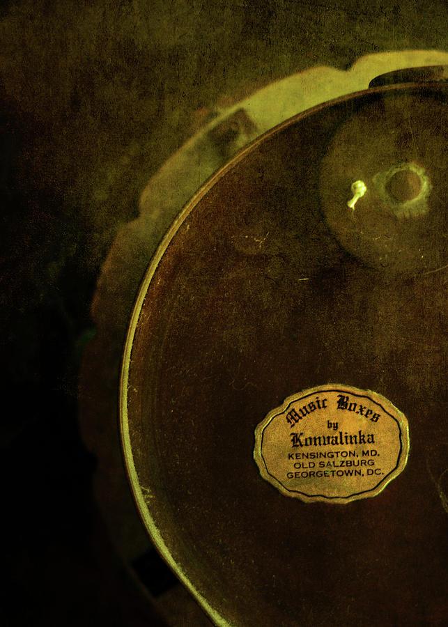 1950s Photograph - The Konvalinka Music Box by Rebecca Sherman
