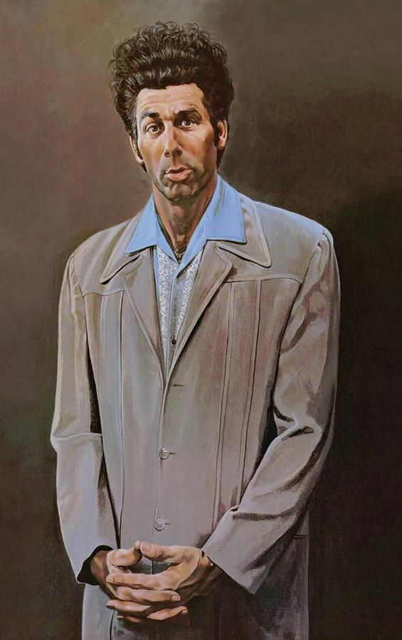Seinfeld Painting - The Kramer Portrait  by Movie Poster Prints