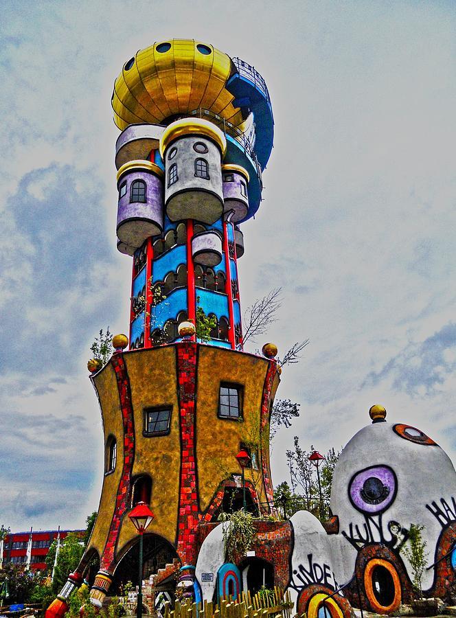Europe Photograph - The Kuchlbauer Tower by Juergen Weiss