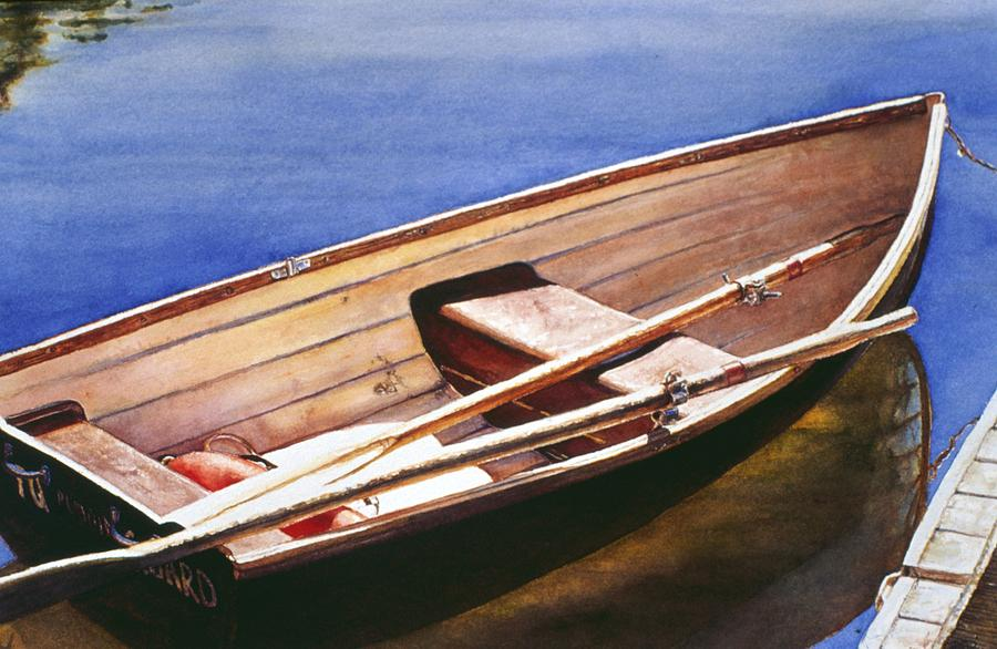 The Lake Boat by Barbara Pease