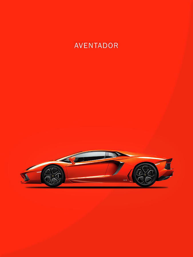 Lamborghini Aventador Photograph - The Lamborghini Aventador by Mark Rogan