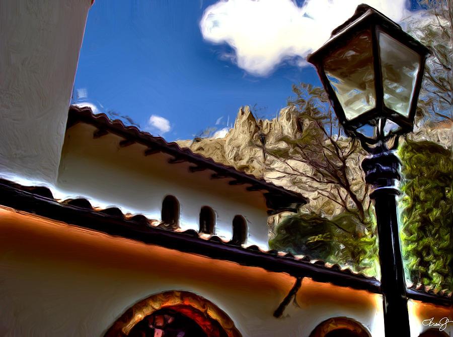 Medellin Photograph - The Lamp Post by Francisco Colon