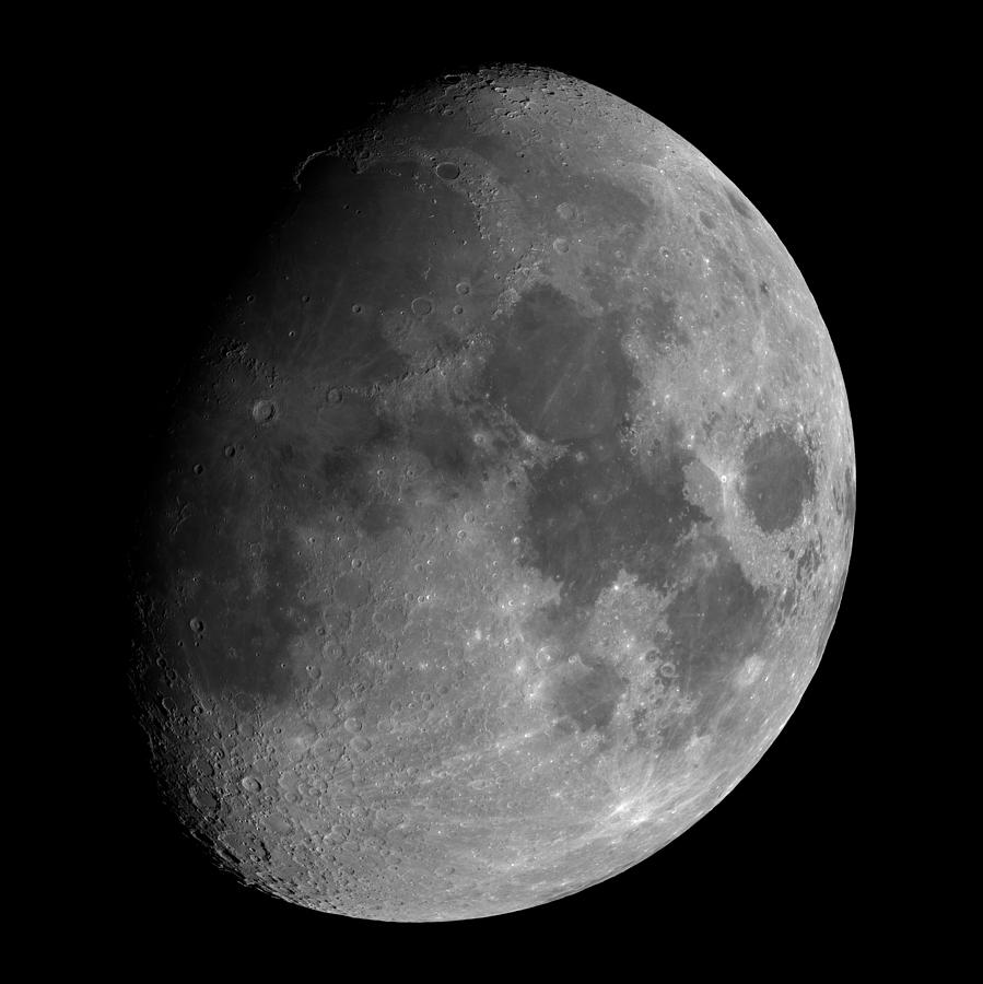 Moon Photograph - The Largest Moon Photograph Ever Taken From Earth by Bartosz Wojczynski
