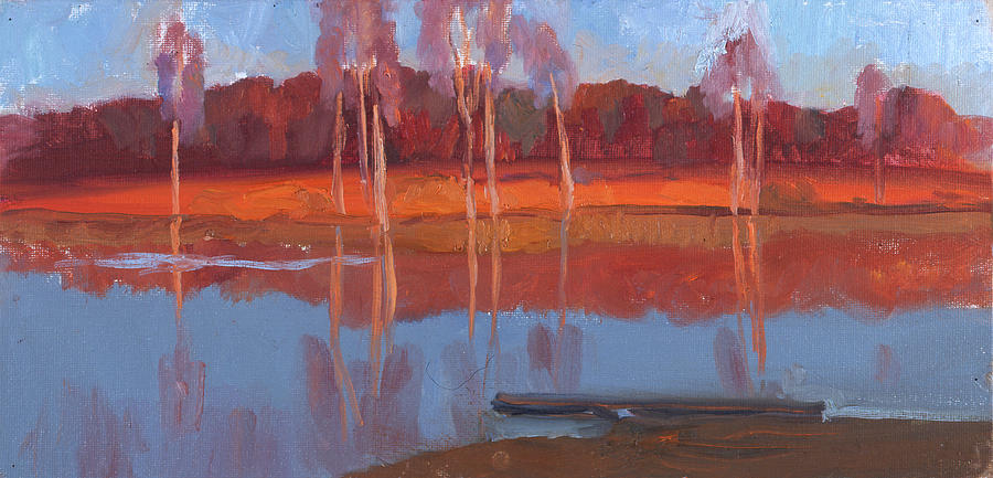The last beams on the Sharitsa river by Yana Poklad