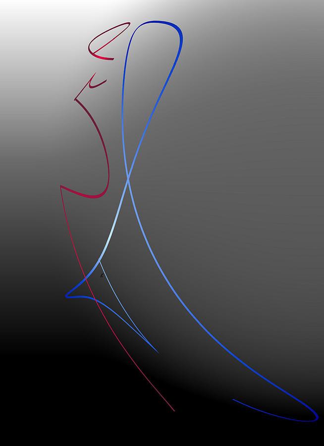 Abstract Digital Art - The Last Dance by John Krakora