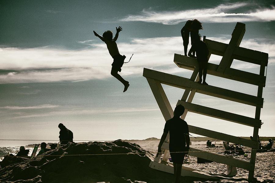 Children Photograph - The Last Days of Summer by Steve Gravano