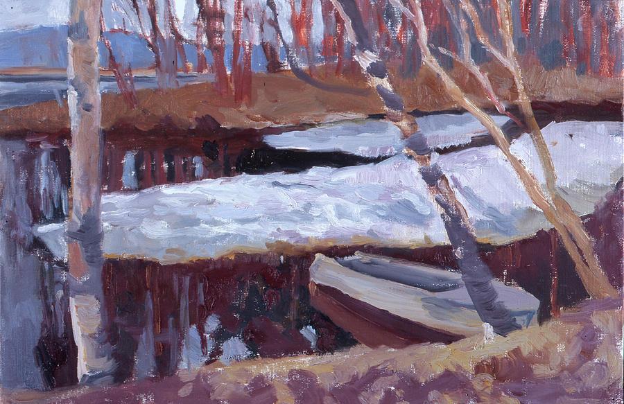 The last ice by Yana Poklad