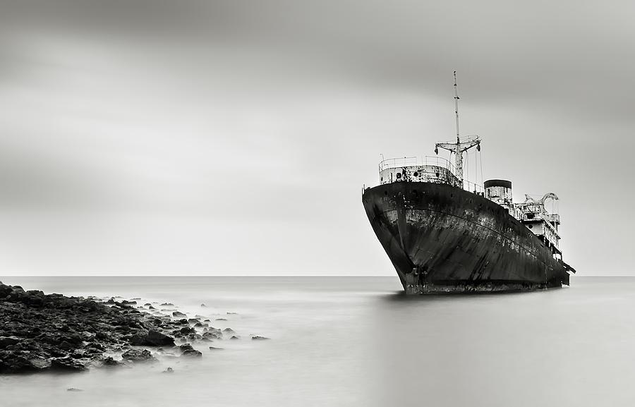 Telamon Photograph - The Last Journey by Inigo Barandiaran