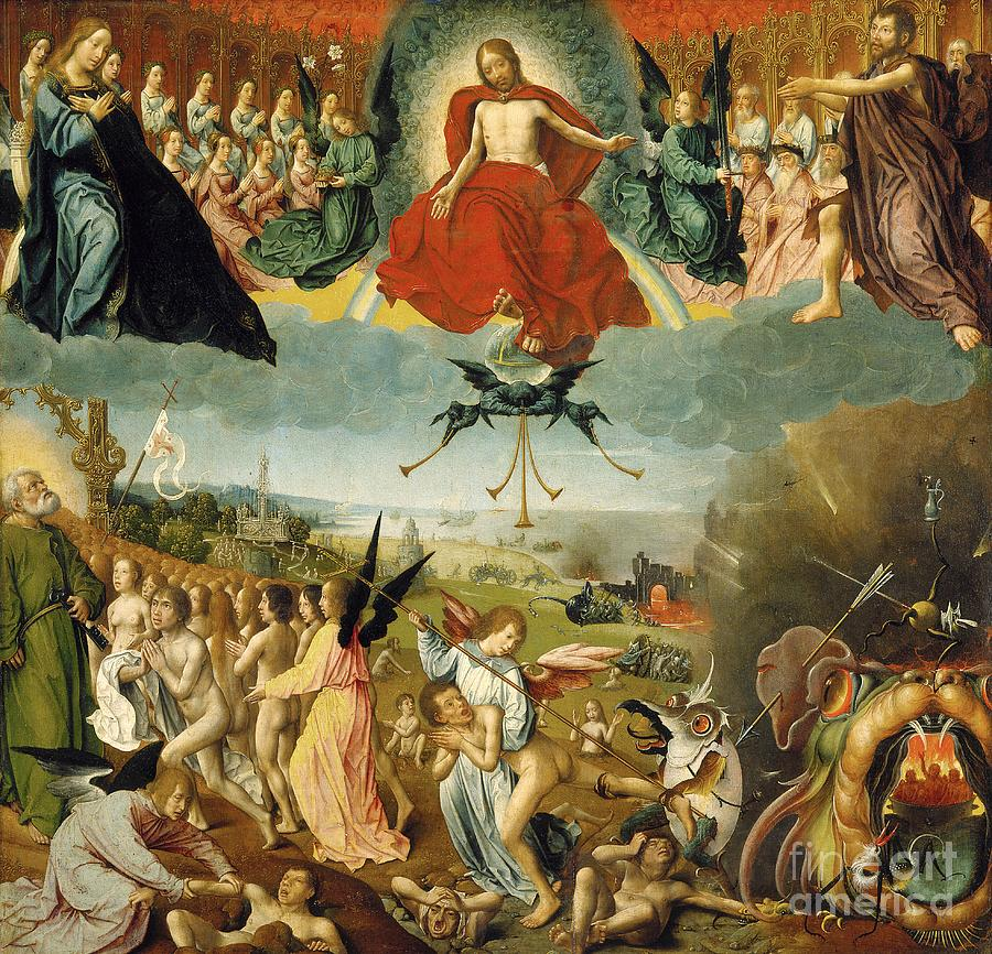 Image result for last judgement art