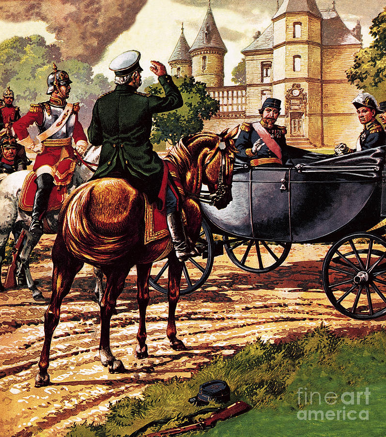 France Painting - The Last Of The French Kings by Pat Nicolle