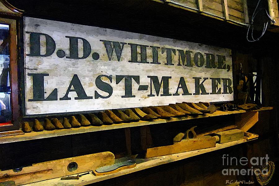 Antique Painting - The Last Of The Last by RC DeWinter