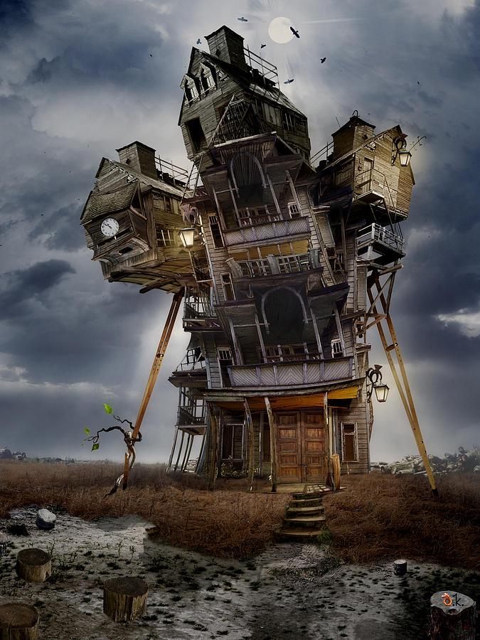 The Last Sprout Digital Art by Alexander Kruglov