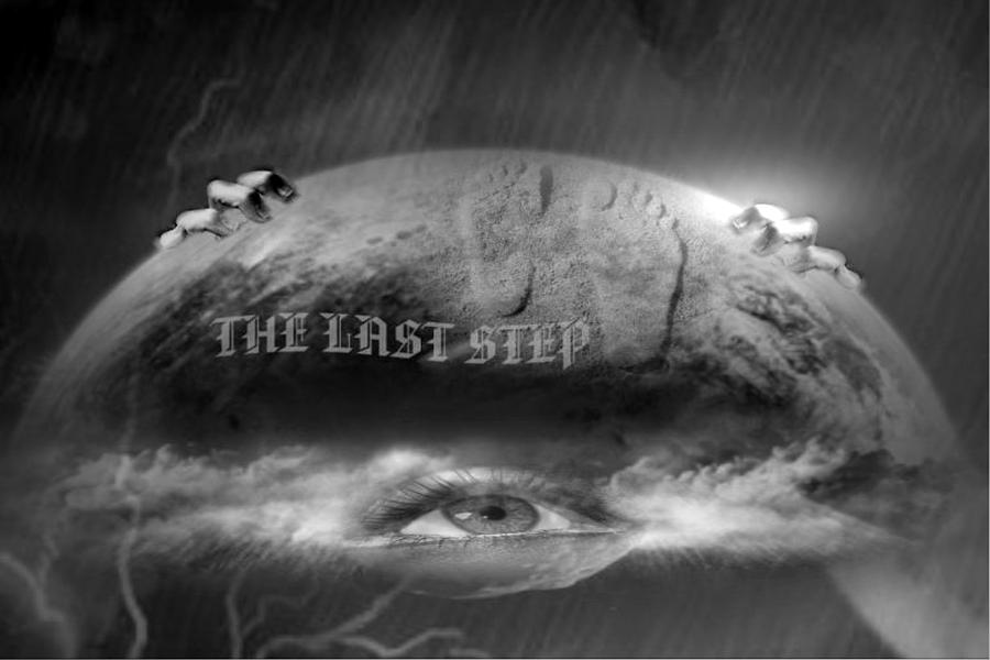 Step Digital Art - The Last Step by Maria Datzreiter