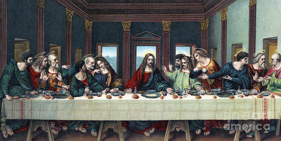 Information on the last supper painting by leonardo da vinci