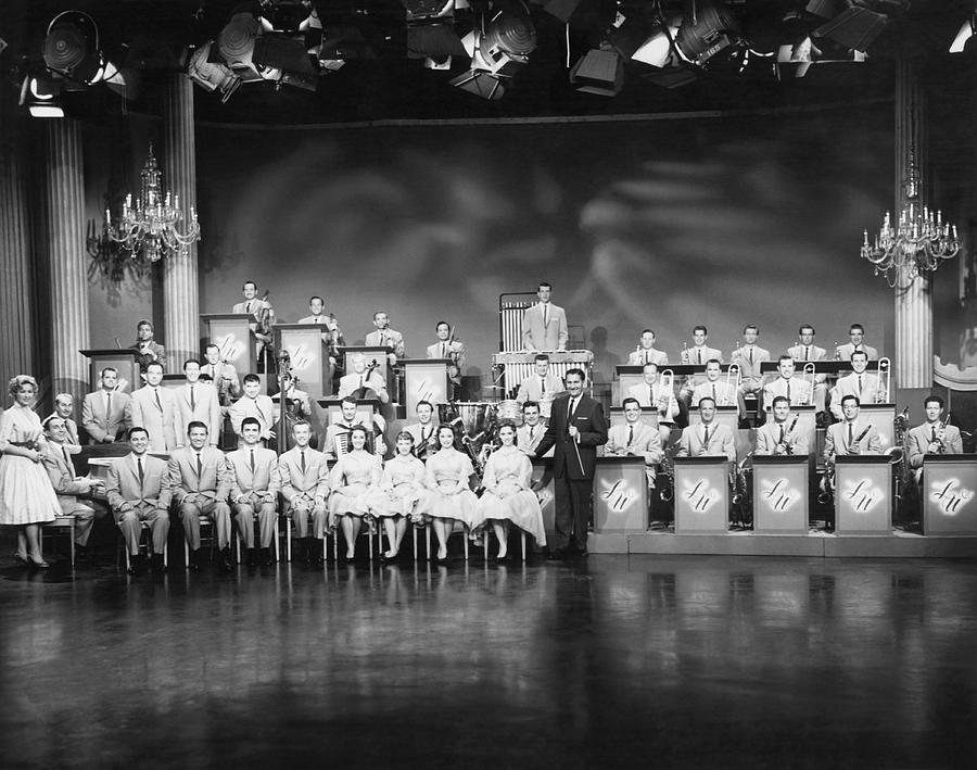 1950s Photograph - The Lawrence Welk Show by Underwood Archives