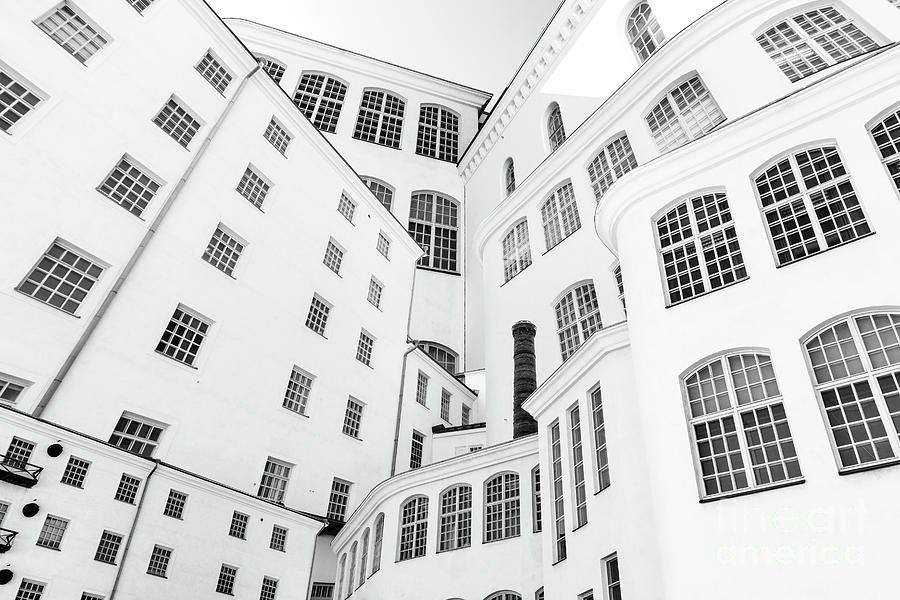 Architecture Photograph - The Layers by Tapio Koivula