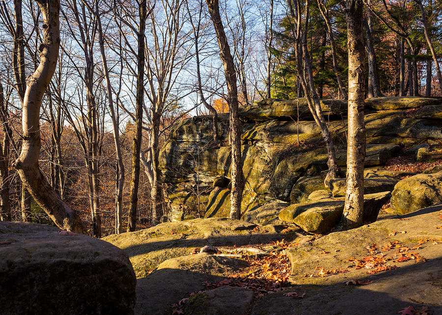 Virginia Kendall Photograph - The Ledges 4 by Tim Fitzwater