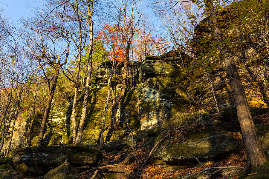 Virginia Kendall Photograph - The Ledges  by Tim Fitzwater