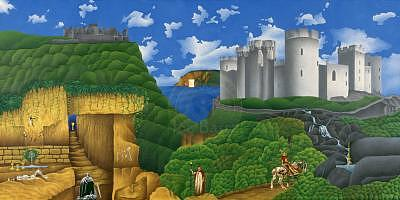 Camelot Painting - The Legend Of Camelot by Joe Bartz
