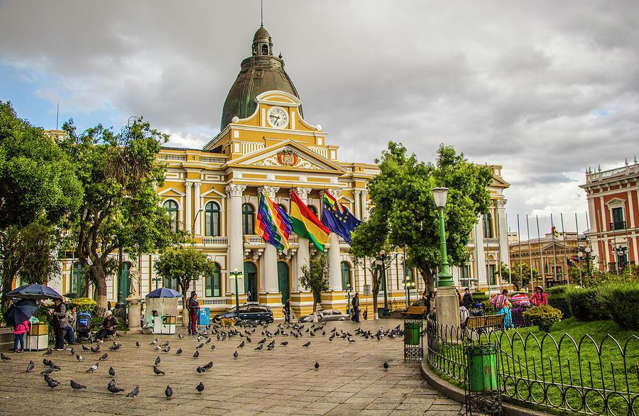 Αποτέλεσμα εικόνας για Plaza Murillo bolivia clock