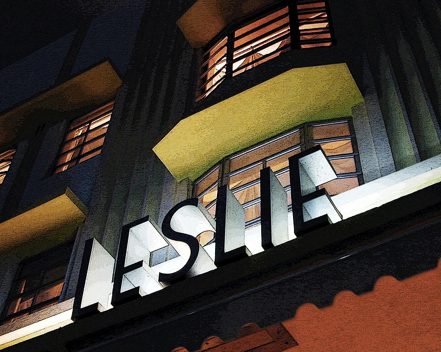 Art Deco Photograph - The Leslie by David April