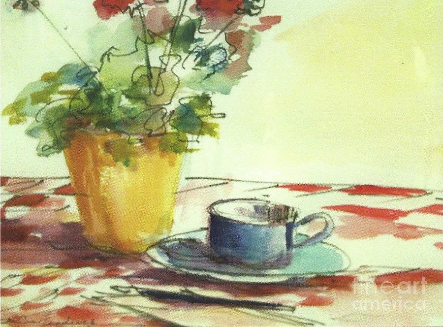 Flower Mixed Media - The Letter by Iva Fendrick
