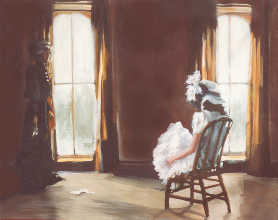 Victorian Painting - The Letter by Linda Crockett