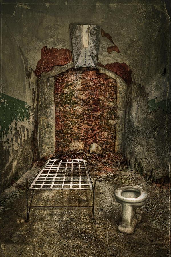 Jail Photograph - The Life Of Crime by Evelina Kremsdorf