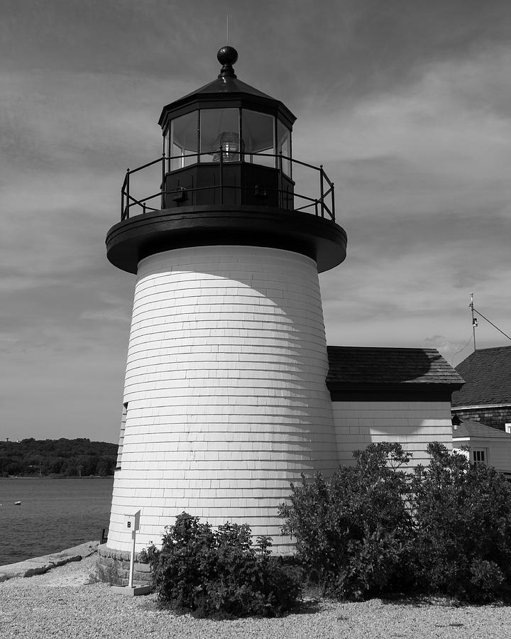 Lighthouse Photograph   The Light At Mystic Seaport By Kirkodd Photography  Of New England