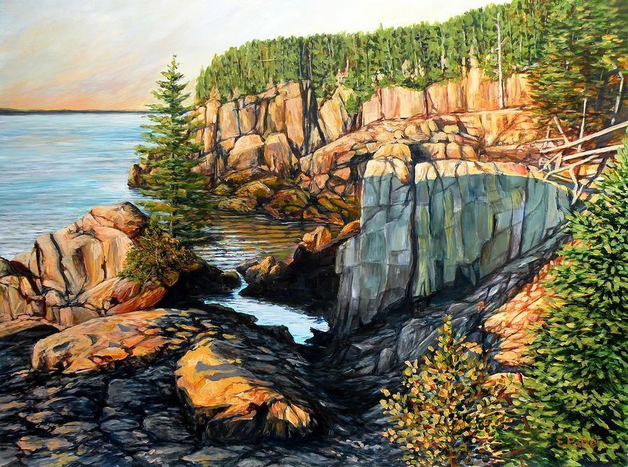 The Light Dawns on West Quoddy Head by Eileen Patten Oliver