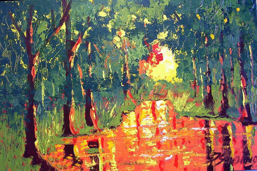 Light Painting - The Light by Paul Sandilands