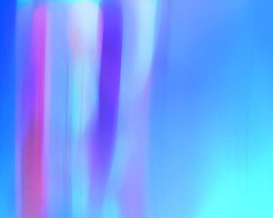 Digital Digital Art - The Light Side Of The Blue by Monica Palermo