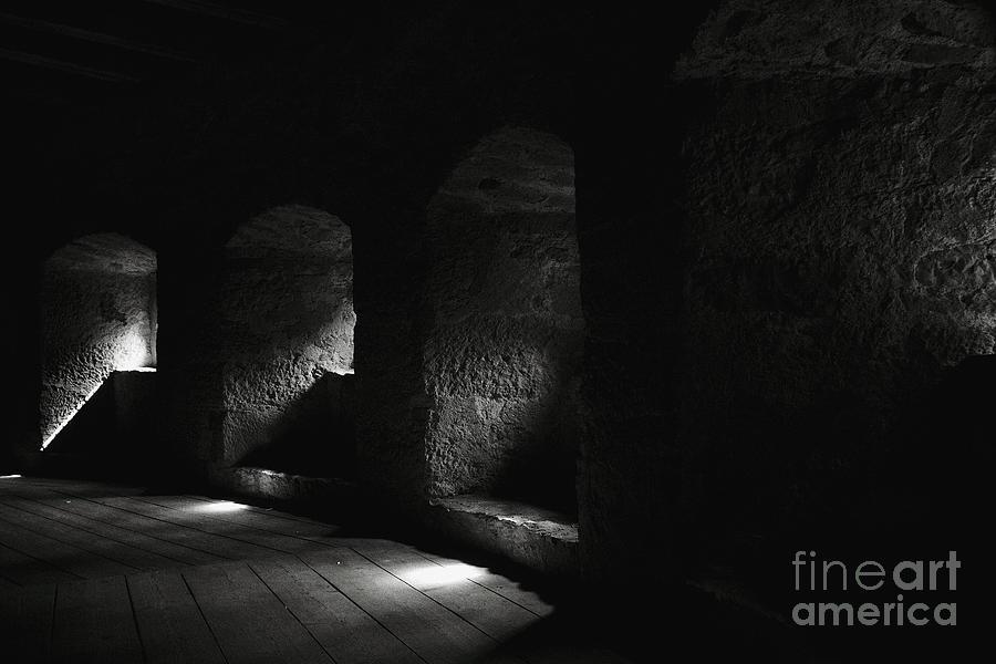 Town Wall Photograph - The Light Through Time by Hideaki Sakurai