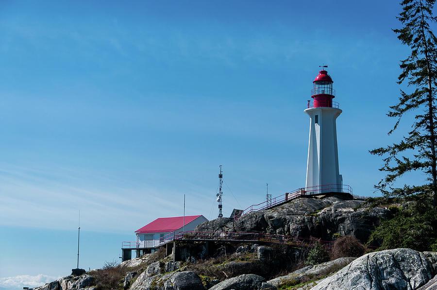 Lighthouse Photograph - The Lighthouse by Fernando De La Cruz